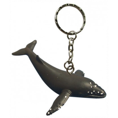 Humpback whale figurine