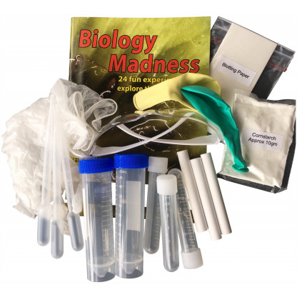 75440 1 scaled Biology Madness is a comprehensive science kit with 24 fun and interesting experiments. Great value learning.