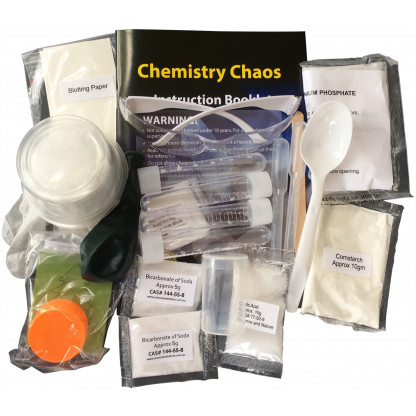 Chemistry Chaos contents