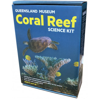 Coral Reef science kit box