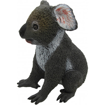 75452 1 Koala figurine is approx 10 - 15 cm long and includes an information hang tag.