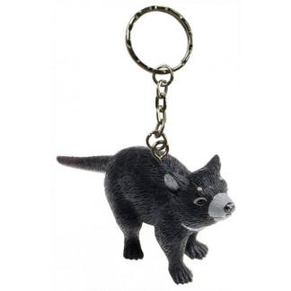 Tasmanian devil keychain