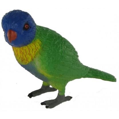 Rainbow lorikeet figurine