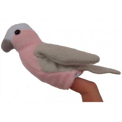 Galah finger puppet