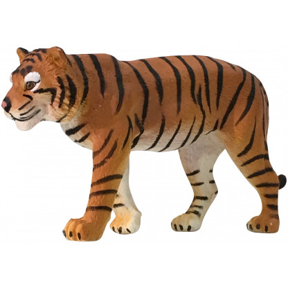 75903 4 Quality PVC replica of a Sumatran Tiger. Size approx 7 cm long by 5 cm high.