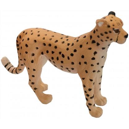 75904 1 Quality PVC replica of a Cheetah. Size approx 7 cm long by 5 cm high.