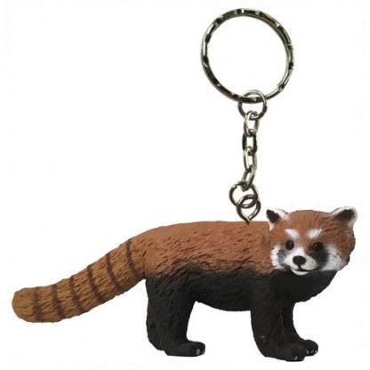 75915 Quality PVC replica of a Red Panda with a keychain attached. Size approx 7 cm long by 5 cm high...
