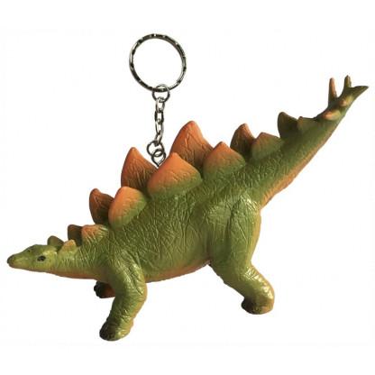 Stegosaurus keychain