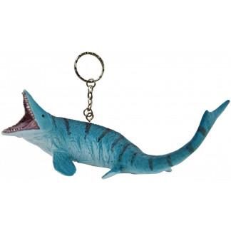 Mosasaurus keychain