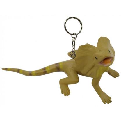 Frilled Lizard keychain