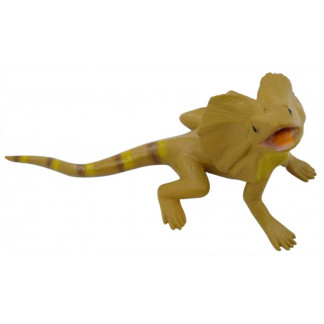 Small frilled lizard figurine
