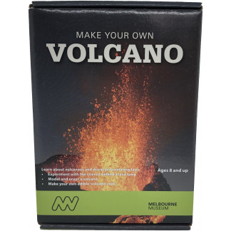 Make Your Own Volcano science kit box