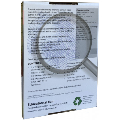 Forensic Science back of box