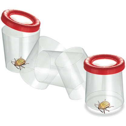 8027 2 Mega Bug Viewer is a JUMBO magnifying viewer for observing insects, small water creatures, tadpoles.