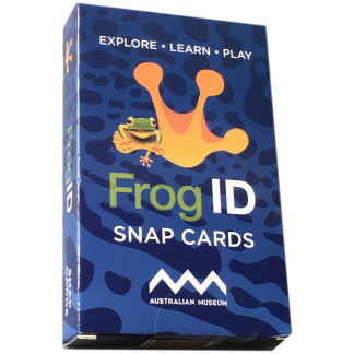 Frog ID card game