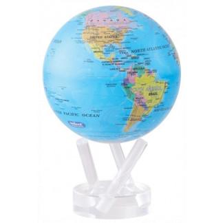 Blue Political MOVA globe