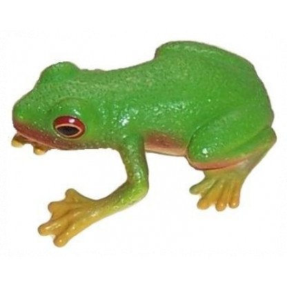75342 Red-eyed Green Tree Frog figurine is a hand painted replica of this popular species.