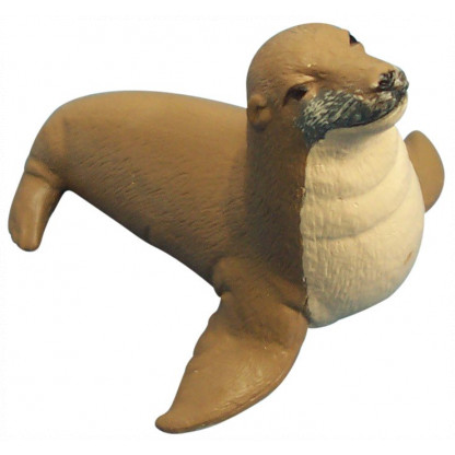 75389 <a>Hand painted plastic sealion figurine. </a>