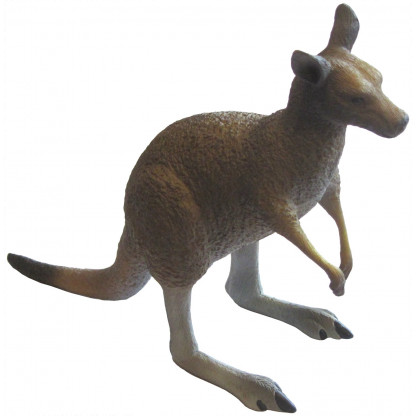 75450 The Eastern Grey Kangaroo replica is hand painted and includes an information tag.