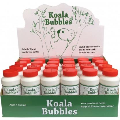 Koala Bubbles display