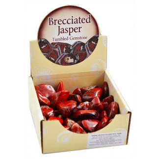 Brecciated Jasper display