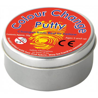 colour change putty tin