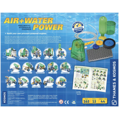 Air and water power back of box
