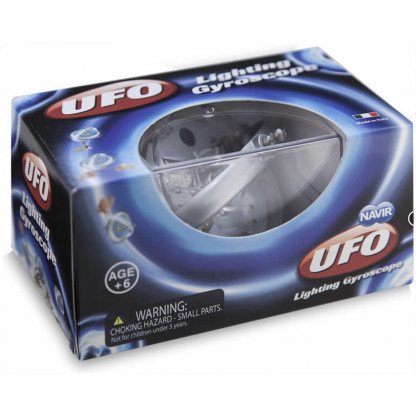UFO Gyroscope Blue box