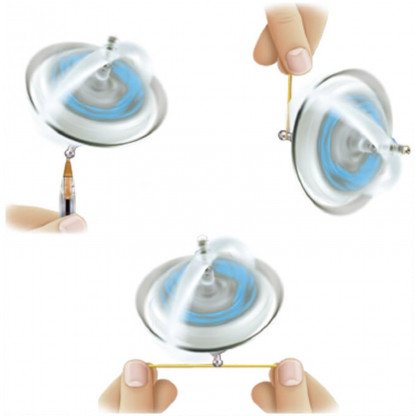 spinning gyroscopes