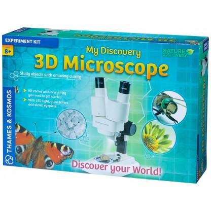 3 D microscope box