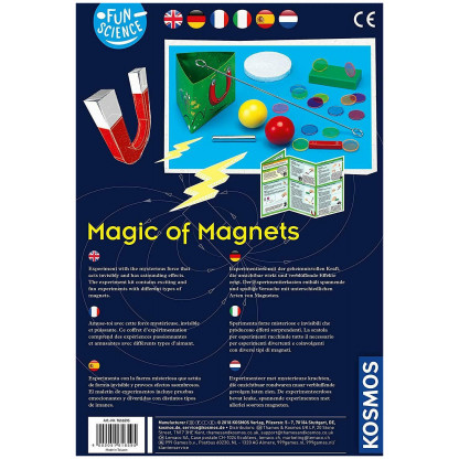 7616595 2 With the Magic of Magnets kit you can learn about compasses, magnetic poles and make magnetic games.