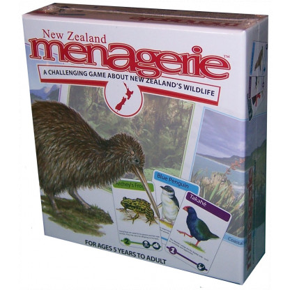 New Zealand Menagerie Game
