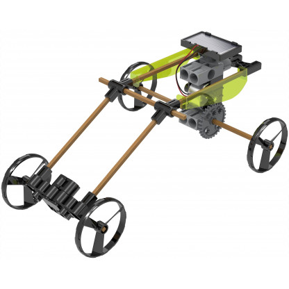 550030 3 Solar Powered Rovers is a science kit that harnesses the sun's energy to do some pretty astonishing things! Construct 5 different solar powered models.