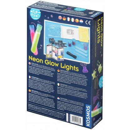 Neon Glow lights back of box