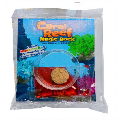 4998 1 Grow a realistic looking coral structure using the special crystal method provided in this kit.
