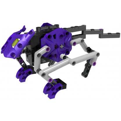 555064 3 Terrain Walkers lets you get hands-on with physics and engineering by constructing eight awesome walking machines!