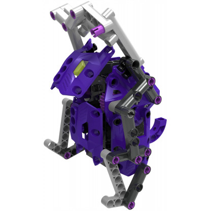 555064 5 Terrain Walkers lets you get hands-on with physics and engineering by constructing eight awesome walking machines!