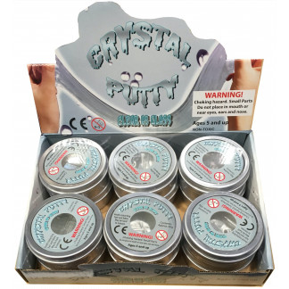 Crystal putty display