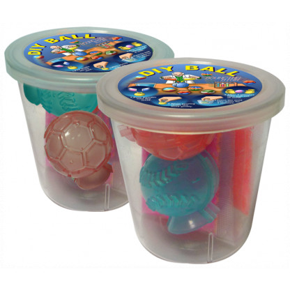 5019 3 Kit contains two ball moulds and four coloured powder sachets. Simply add water, allow to set and: magic - a hi-bounce ball.