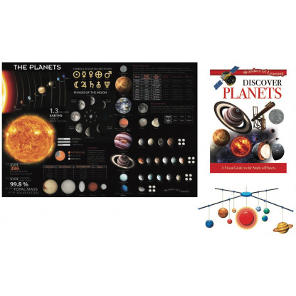 5720 1 Kit includes a 32 page reference book, wall chart and a model of the solar system mobile to assemble.