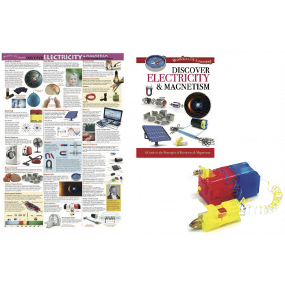 5724 1 Kit includes a 32 page reference book, wall chart and an electric circuit experiment kit.