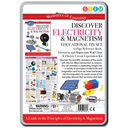 5724 2 Kit includes a 32 page reference book, wall chart and an electric circuit experiment kit.