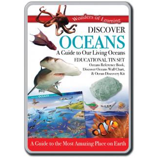 Discover Oceans tin set