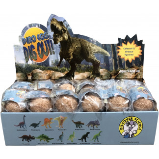 Dino Egg Dig Out display
