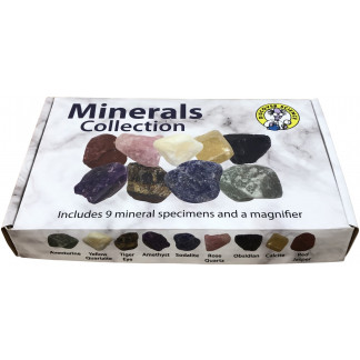 Minerals Collection box